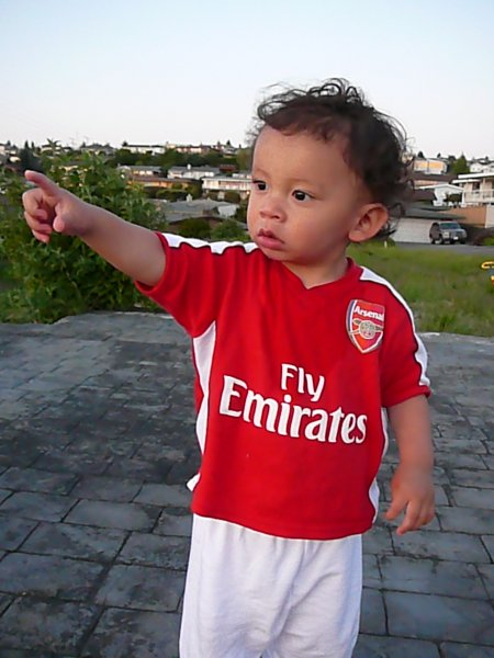 The real Gooner of the Year